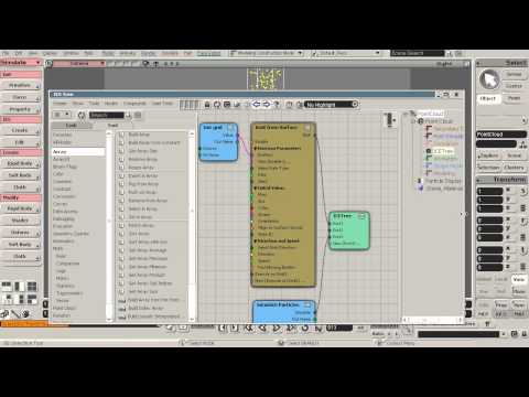 Creating a Basic ICE Simulation in Softimage