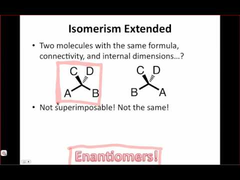 IE Organic Lecture 7.2 - The Criterion of Chirality