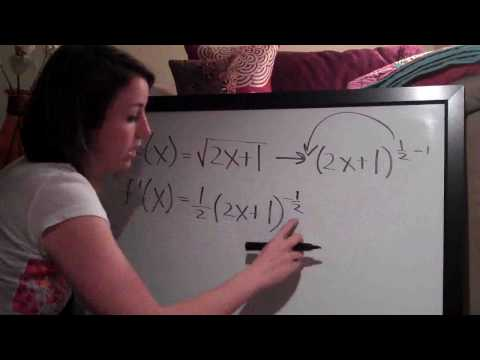 Chain Rule Example 1
