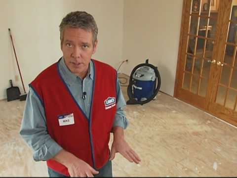 Prepping a Plywood Subfloor for Hardwood or Laminate Flooring
