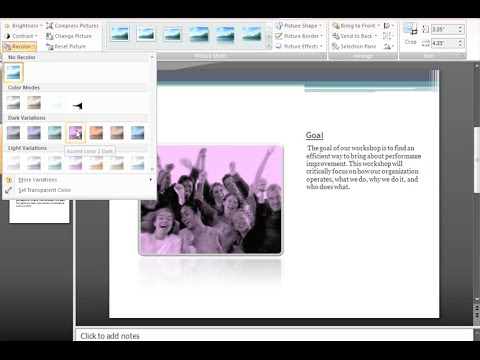 PowerPoint 2007: Pictures and Clip Art Part 2