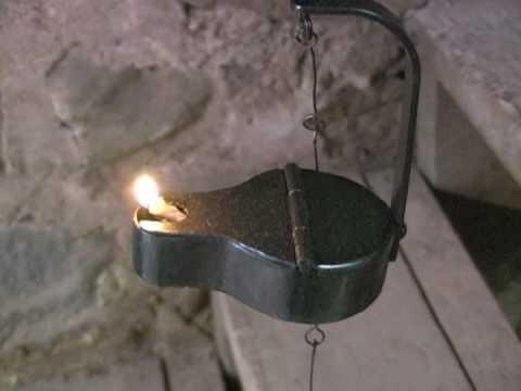 Iron Betty Lamp BL-25