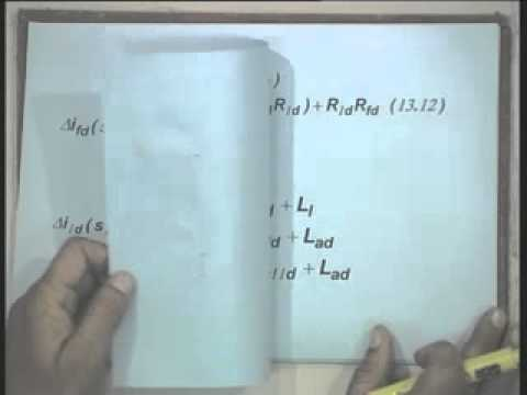 Lec-13 Synchronous Machine Representation for Stability Studies-Part-2