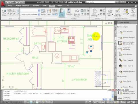 AutoCAD Tutorial -  Dynamic Blocks
