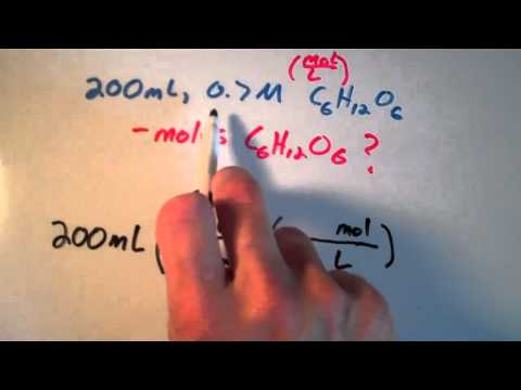 Using Molarity in Calculations