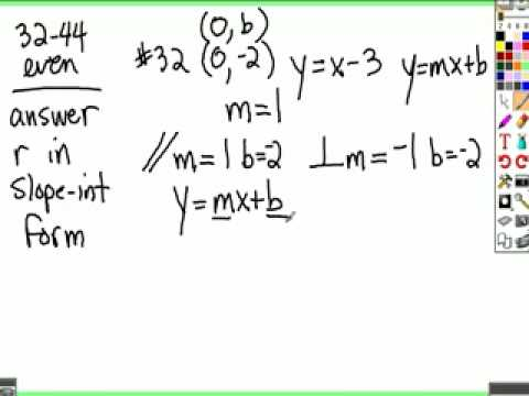 34b Finding Equations of Lines