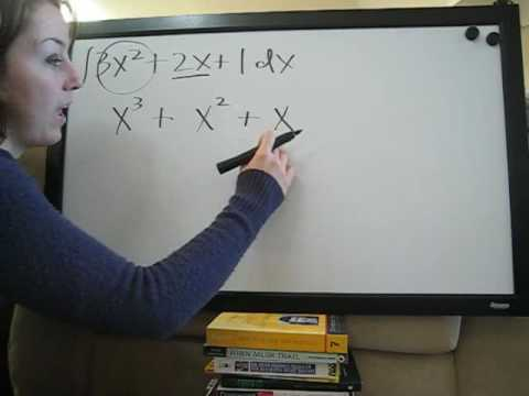 Indefinite Integrals Example 1