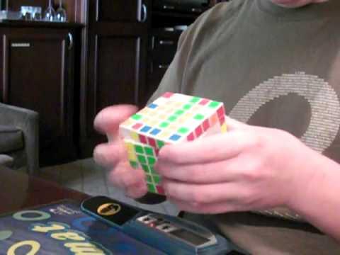 3:51.xx V-Cube 6x6 Solve