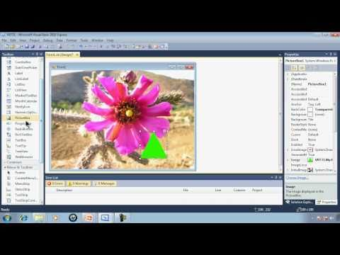 Visual Basic 2010 Express Tutorial 31 - Picture Transparency - PNG Images Within PictureBoxes