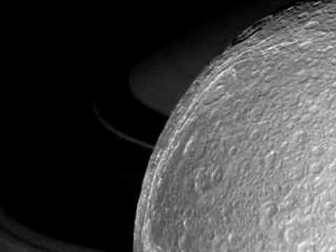 Saturn's moons Dione and Telesto