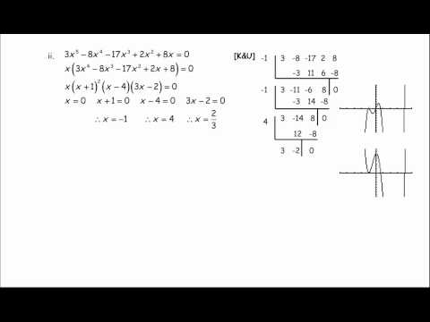 Polynomials Review Solutions