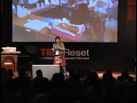 TEDxReset 2011 - Dilara Erbay - Courrage..? What if we didin't dare taste lie?