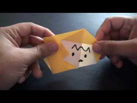 Origami Daily - 394: Monkey - TCGames [HD]