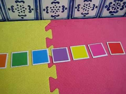 Toddler - Math. Colors in room game
