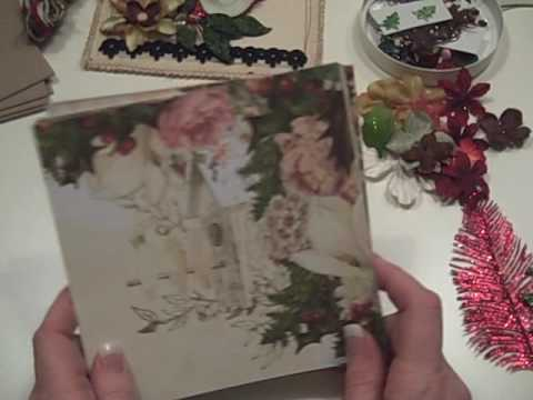 Webster's Pages Christmas Mini Album Kit