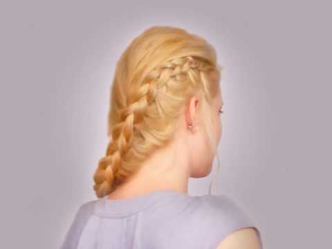 Side dutch braid hair tutorial Cute everyday hairstyles for long hair back to school