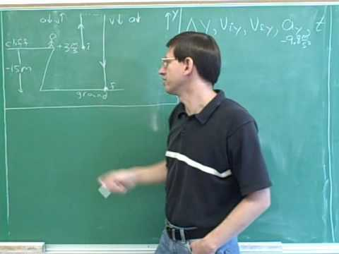 One-dimensional projectile motion (16)