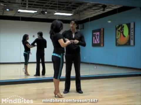 Salsa Dancing - Salsa Partnerwork Technique: The Whip (on2)