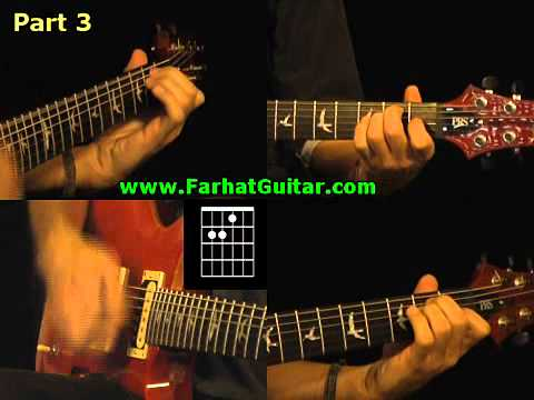 Satisfaction - Rolling Stone Guitar Cover Part 3 www.Farhatguitar.com