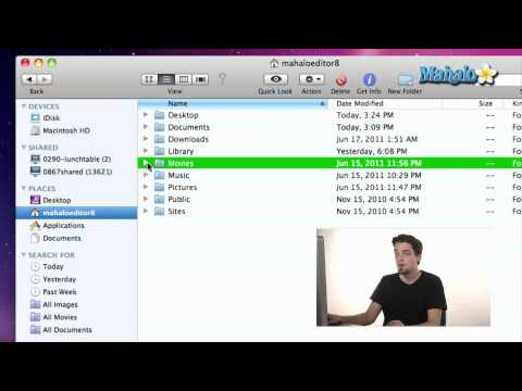 Using a Mac - Home folder