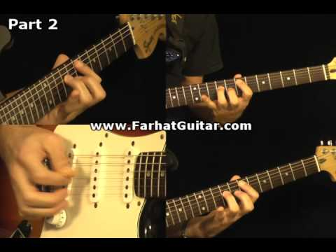 Revolution - The Beatles Guitar Cover Part 2  www.FarhatGuitar.com