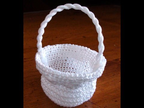 Thread Crochet Basket