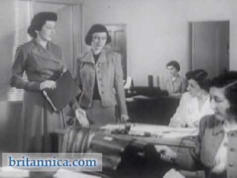 Office Etiquette 1950