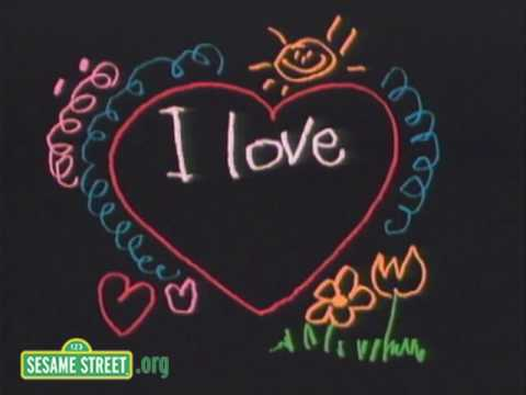 Sesame Street: Valentine - I Love You