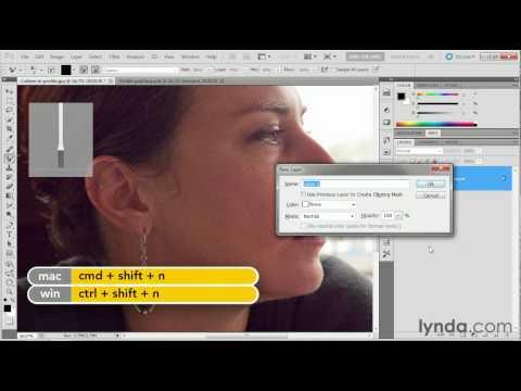 Photoshop tutorial: Exploring the different painting tools | lynda.com