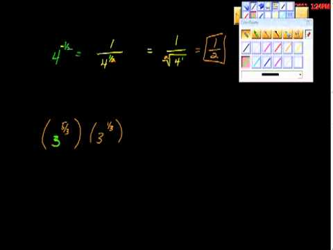 Radicals Rational Exponents