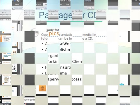 PowerPoint 2007: Finalize Your Presentation