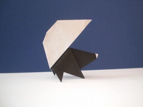 Origami Skunk