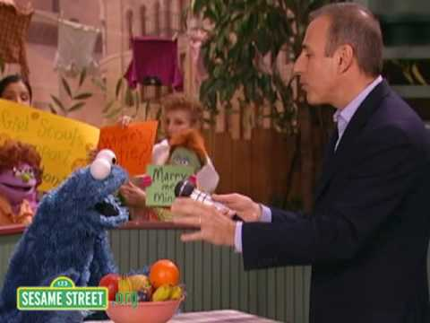 Sesame Street: Matt Lauer Interviews Cookie Monster