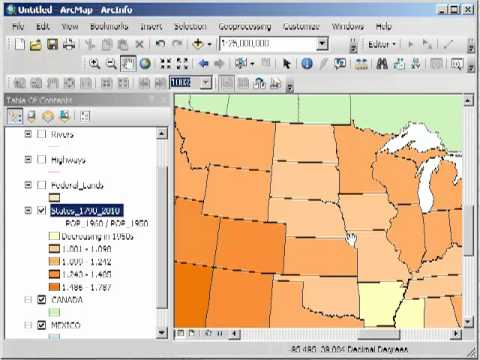 Normalizing Data in ArcGIS Desktop