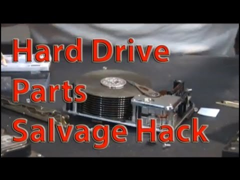 P2 Tesla Turbine Parts RECYCLING DRILLS HARD DRIVES FOR GENERATORS AND PLATTERS