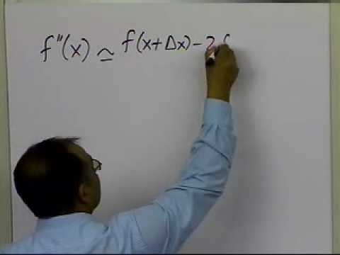 Second Derivative Using Divided Difference Formulas for Discrete Data
