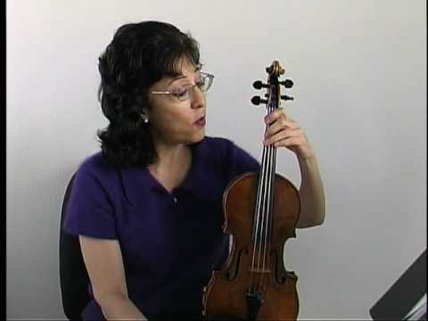 "Violin Lesson - Song Demo - ""Twinkle  Twinkle"" in a major."