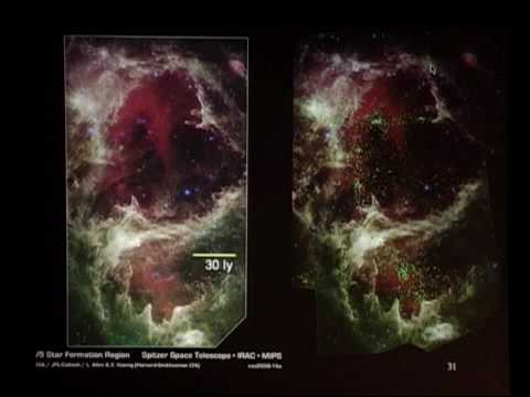 Viewing the Universe w Infrared Eyes: The Spitzer Space Telescope