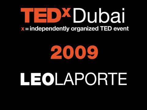 TEDxDubai - Leo Laporte - 10/10/09