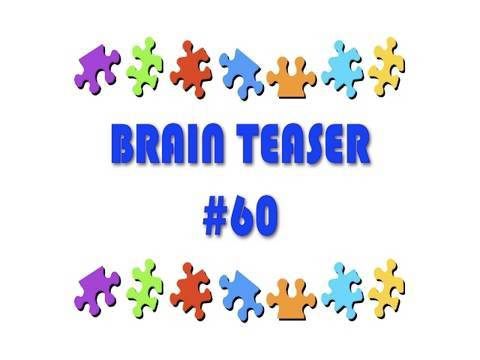 Video Brain Teaser #60
