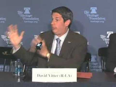 Sen. David Vitter on Free-Market Approach to Health Care