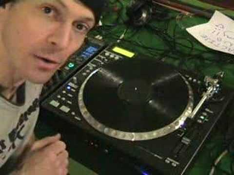 Mess about with the CDT-05mk2 hybrid turntable & DJM-800