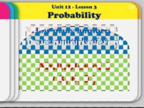 Lesson 3 Probability