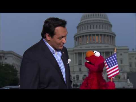 A CAPITOL FOURTH | Jimmy Smits and Elmo | PBS