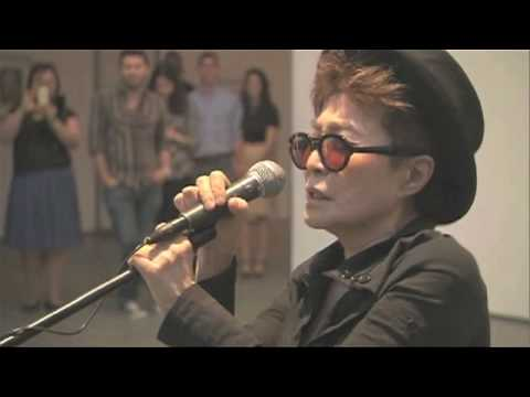VOICE PIECE FOR SOPRANO & WISH TREE at MoMA, Summer 2010 by yoko ono