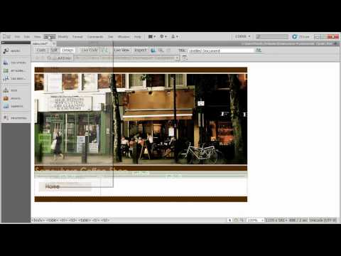 3 - Creating Table Based Layouts in Dreamweaver
