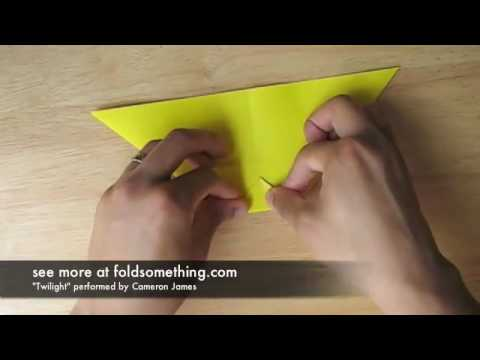 Origami pencil cup / holder