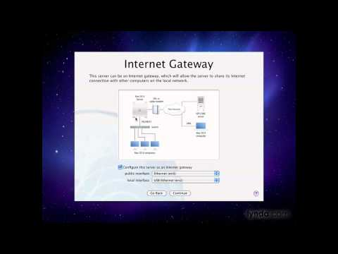 Mac OS X Server: Setting up a gateway server | lynda.com