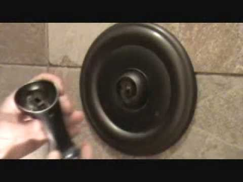 How to re attach a shower handle