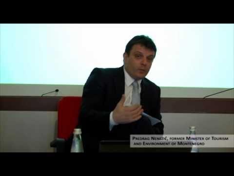 "VIU Lectio Magistralis 2011 ""Montenegro: Sustainable Tourism Development"" - Predrag Nenezic part 2"